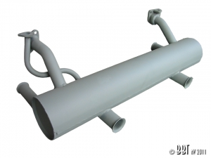 30HP Exhaust (Twin Tailpipes) - 30HP Type 1 Engines