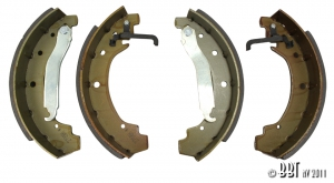 **NCA** Type 25 Syncro Rear Brake Shoes - Models With 16