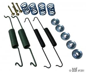 1302 + 1303 Beetle Front Brake Shoe Fitting Kit