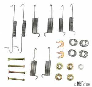 Type 25 Rear Brake Shoe Fitting Kit (Not 16