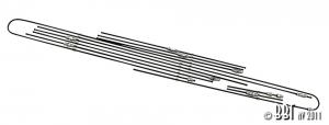 Baywindow Bus Steel Brake Line Kit - 1971 ONLY (Without Servo Brakes)