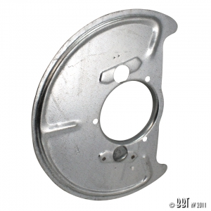 Type 25 Front Backing Plate - 1986-92 - Left