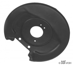 Beetle Front Backing Plate (Not 1302 + 1303 Models) - Disc Brakes - 1966-79