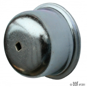 Beetle Front Grease Cap - 1966-79 - Left (With Speedo Cable Hole)