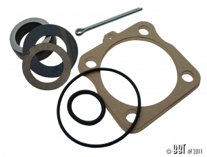 Beetle Swing Axle Rear Hub Seal Kit With Spacer (Also Karmann Ghia) - Top Quality