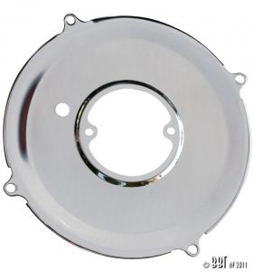 Chrome Alternator Backing Plate (Also Fits 30Amp Dynamo)