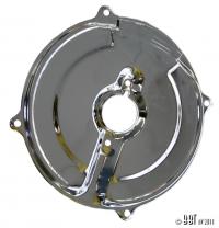 Chrome Inner Alternator Backing Plate (Also Fits 30Amp Dynamo)