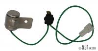 Distributor Condensor - Vacuum Dizzys - Square Hole In Side (Originally 1973-79 Beetles)