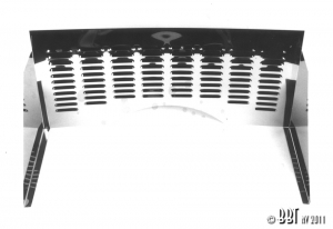 Beetle Louvered Stainless Steel Firewall