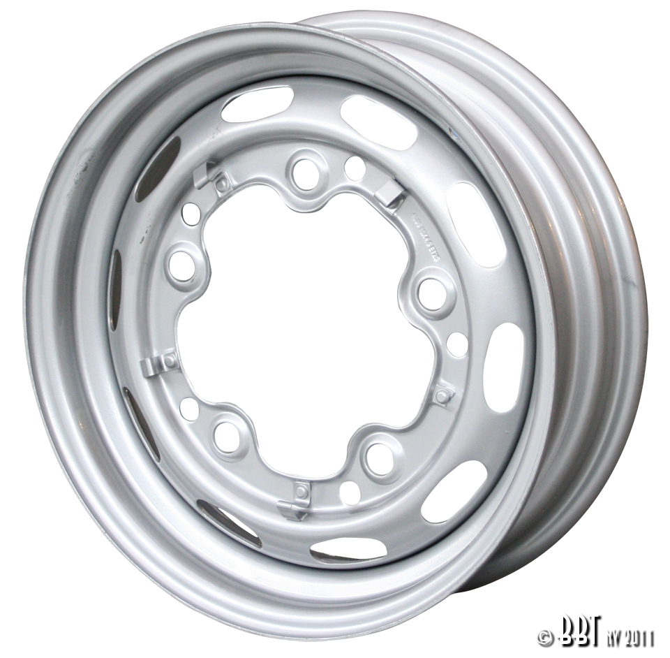 Silver OE Steel Wheels