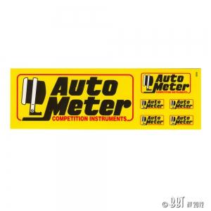 AutoMeter Small Sticker Kit - 3 Piece