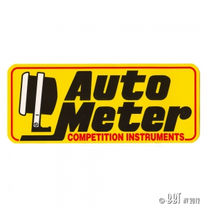**ON SALE** AutoMeter Large Sticker