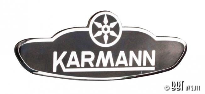 Beetle Cabriolet Karmann Badge
