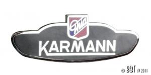 Karmann Ghia Body Badge