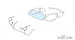 Karmann Ghia Front Windscreen Glass