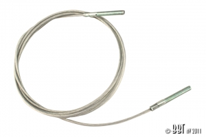 Beetle Cabriolet Hood Rear Tensioning Cable - 1968-79 - Top Quality