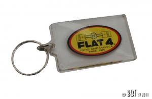 Flat 4 Key Ring