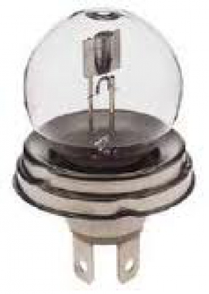 45-40W (Round Base) Headlamp Bulb (6V)