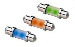 12V LED 38mm Interior Bulb Blue