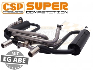 CSP Supercomp Exhaust System (Heating and Single Carb)
