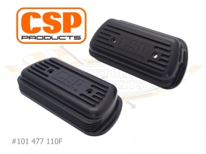 CSP Billet Rocker Covers With Cooling Vents - Type 1 Engines (Machined Logo With M18 Fitting)