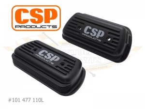 CSP Billet Rocker Covers With Cooling Vents - Type 1 Engines (Laser Engraved Logo)