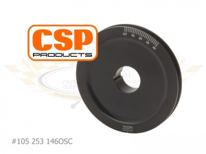 CSP Power Pulley - 146mm - Type 1 Engines (Used For Porsche Cooling Conversion)