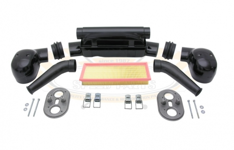 44IDF, 48IDF Twin Carb Air Box Kit - Type 1 Engines With Standard Fanshroud