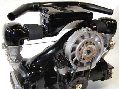 44IDF, 48IDF Twin Carb Carbon Fibre Air Box Kit - Type 1 Engines With Porsche Fanshroud