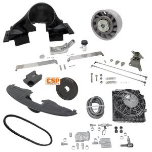 Deluxe CSP Porsche Cooling Conversion Kit - Epoxy - Type 1 Engines