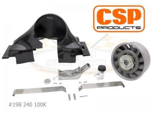CSP Porsche Cooling Conversion Kit - Carbon Fibre - Type 1 Engines
