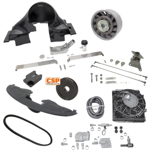 Deluxe CSP Porsche Cooling Conversion Kit - Carbon Fibre - Type 1 Engines