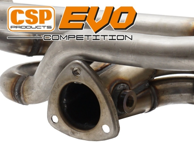 Beetle CSP EVO Competition Exhaust - 38mm Bore (For Use With CSP Heat Exchangers)