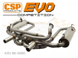 Beetle CSP EVO Competition Exhaust - 38mm Bore (For Use With CSP J Tubes)
