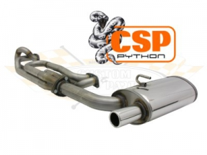 CSP T25 42mm Python Exhaust System (Aircooled + Early Waterboxer 1.9 DF+DG Engines)