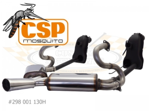 Beetle CSP Mosquito Exhaust With Heat Exchangers - 30HP Engines