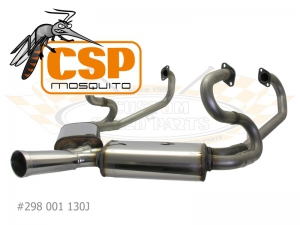 Beetle CSP Mosquito Exhaust With J Tubes - 30HP Engines