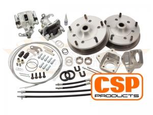 CSP T1 -67 Wide 5 Rear Disc Brake Conversion - 5x205 PCD