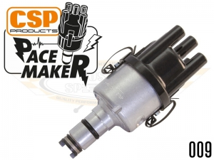 CSP Pacemaker Distributor - 009 With Silver Body And Black Cap