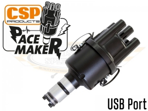 CSP Pacemaker Distributor - USB Port With Black Body And Black Cap