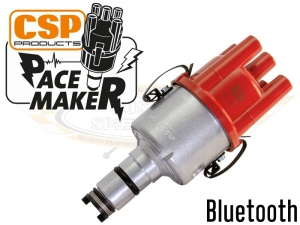 CSP Pacemaker Distributor - Bluetooth With Silver Body And Red Cap