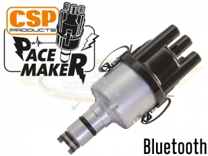 CSP Pacemaker Distributor - Bluetooth With Silver Body And Black Cap