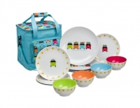 Camper Smiles Dining Set With Cooler Bag