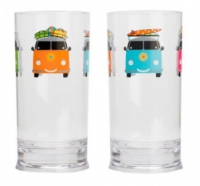 Camper Smiles Tall Tumblers (x2)