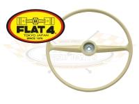 Splitscreen Bus Steering Wheel - Ivory - 1955-67 - FLAT 4