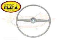 Splitscreen Bus Steering Wheel - Grey - 1955-67 - FLAT 4
