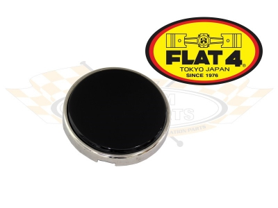 FLAT 4 Banjo Steering Wheel Black Horn Push