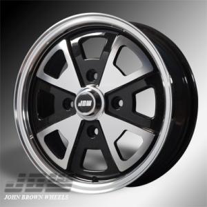 4x130 PCD JBW 2-Litre Alloy Wheel in Gloss Black