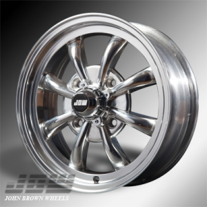 4x130 PCD JBW AC8 Alloy Wheel in Polished