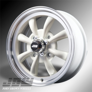 4x130 PCD JBW AC8 Alloy Wheel in White